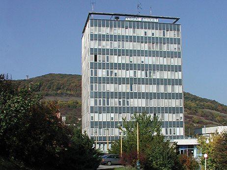 budova odštepeného závodu Košice