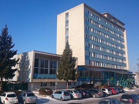 budova odštepeného závodu Piešťany