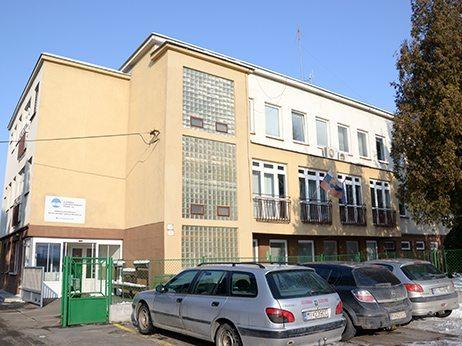 budova správy povodia Laborca v Michalovciach