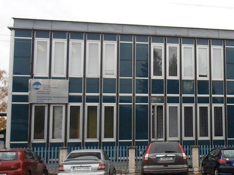 budova správy povodia dolného Hrona a dolného Ipľa v Leviciach