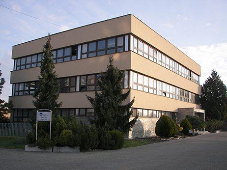 budova správy povodia dolného Váhu v Šali