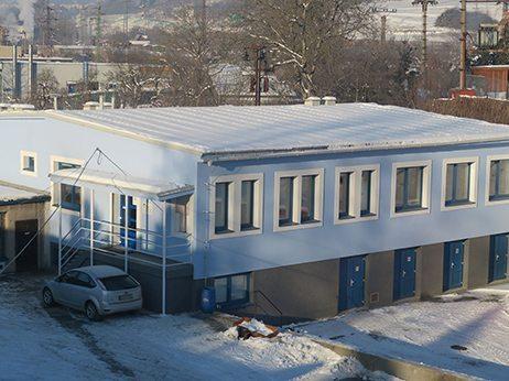 budova správy povodia horného Hrona v Banskej Bystrici