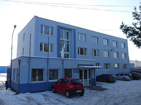 budova správy povodia horného Ipľa v Lučenci