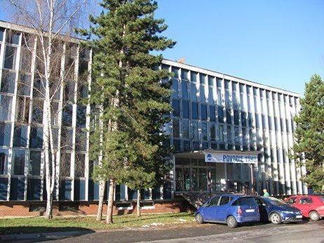 budova správy povodia horného Váhu v Ružomberku