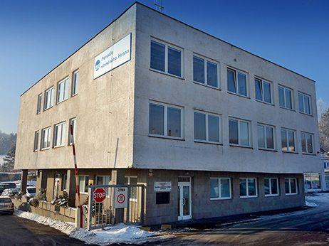 budova správy povodia stredného Hrona vo Zvolene
