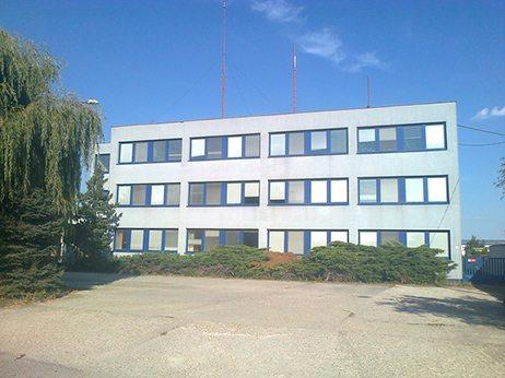 budova správy vnútorných vod Šamorín
