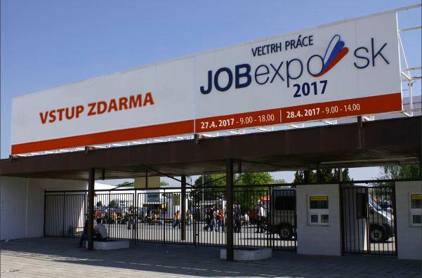 vstup na výstavu JOB expo