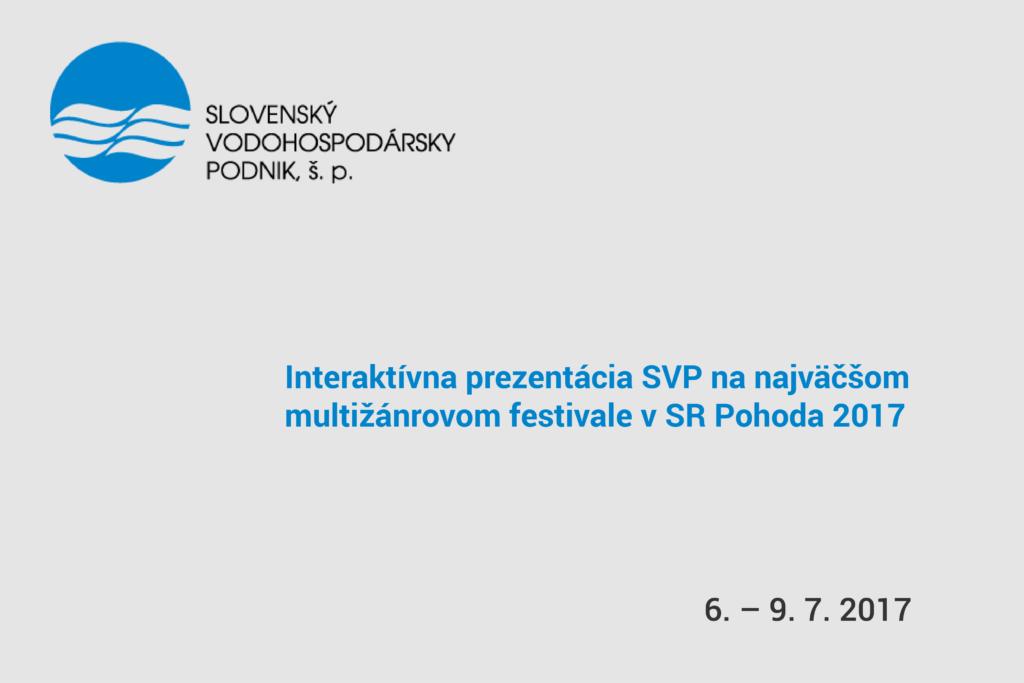 pozvánka na prezentáciu na najväčšom festivale Pohoda 2017